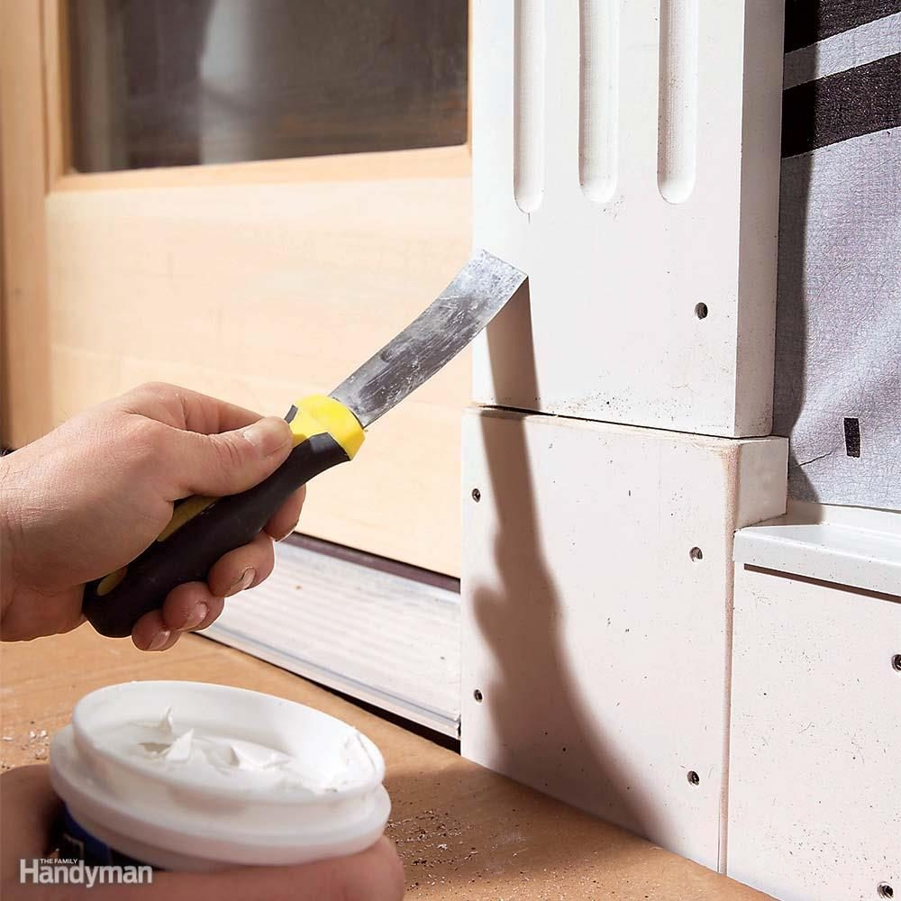 Fill Fastener Holes Before You Paint