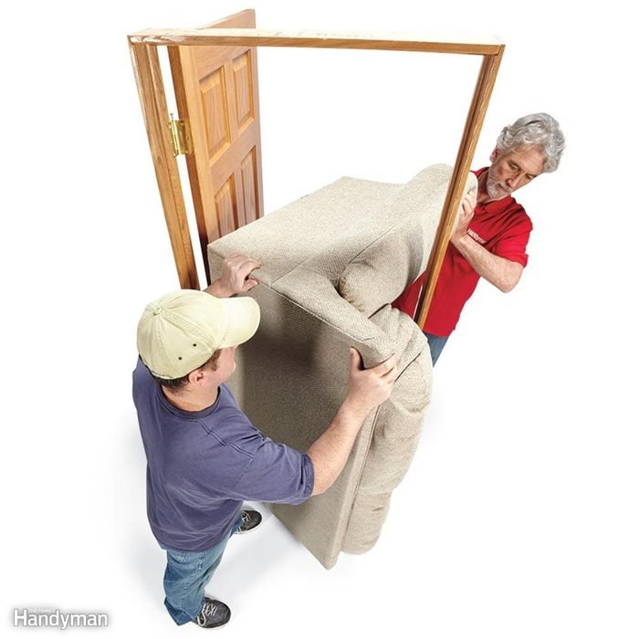How to Move a Couch: Stand Couches on End