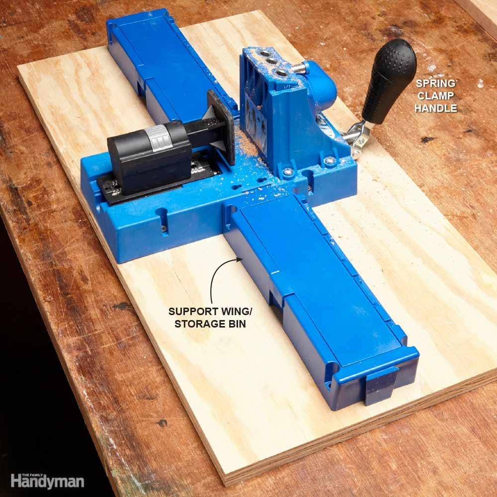 For the Carpenter: Premier Pocket Hole Jig