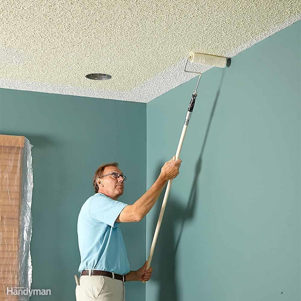 Painting Over Popcorn Ceilings Without Testing First