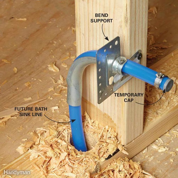 Install PEX Directly to the Fixtures