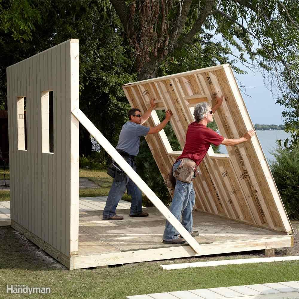 DIY Shed Building Tips — The Family Handyman