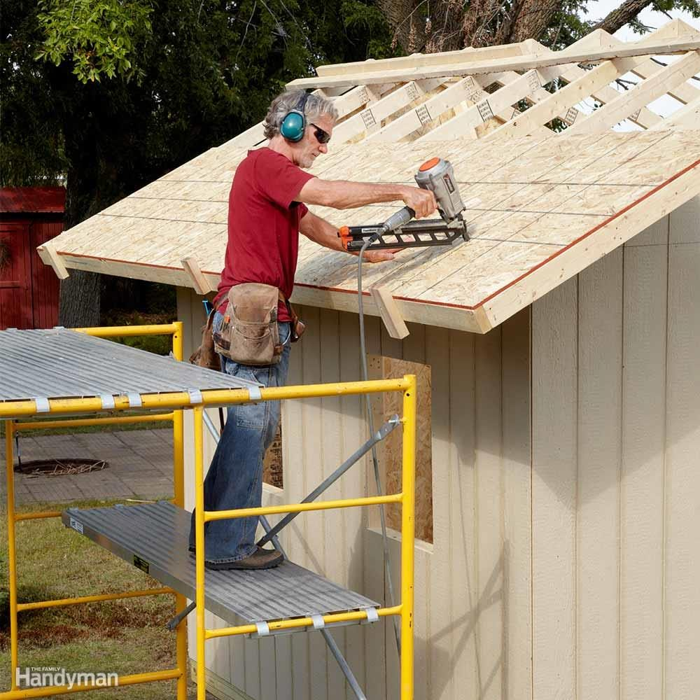 Diy Shed Building Tips The Family Handyman