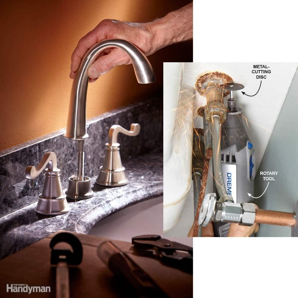 10 Tips for Installing a Faucet the Easy Way | The Family Handyman