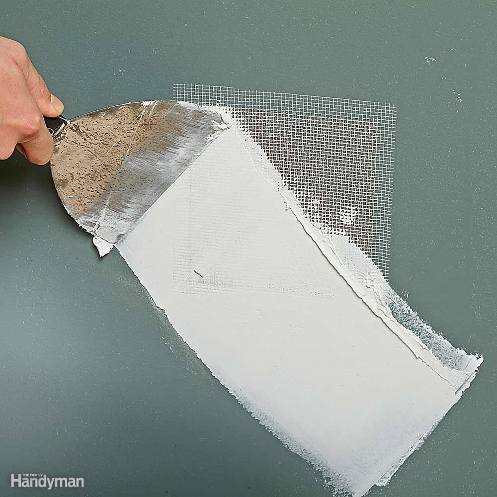 10 Tips For Patching Drywall And Repairs Family Handyman