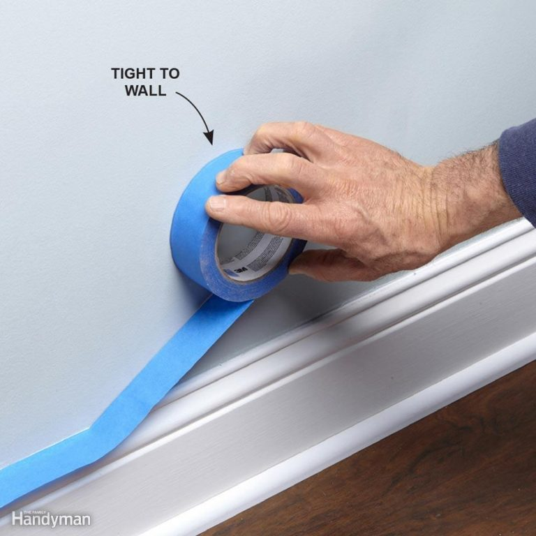 Apply Painter's Tape Without a Special Tool