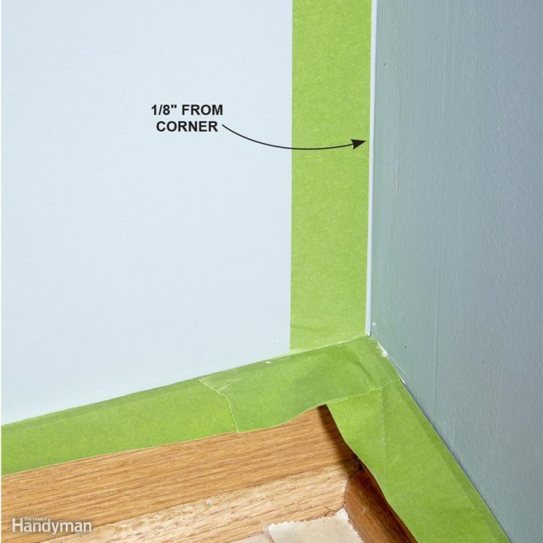 Painting Inside Corners
