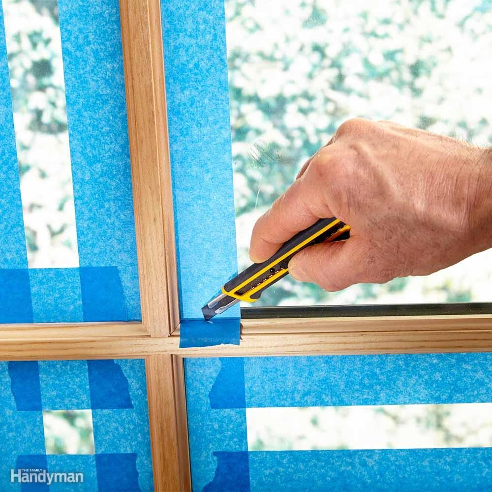 Painting Prep: Foolproof Window Masking