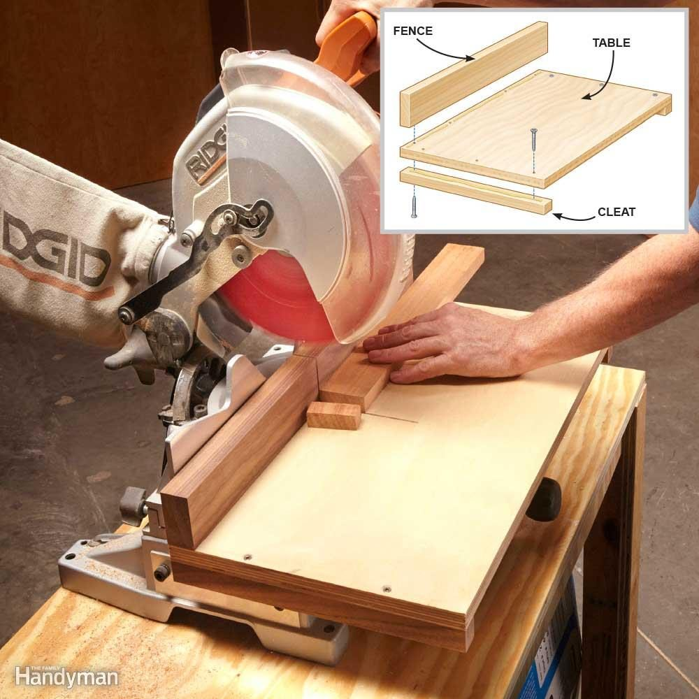 Accurate Miter Saw Cuts