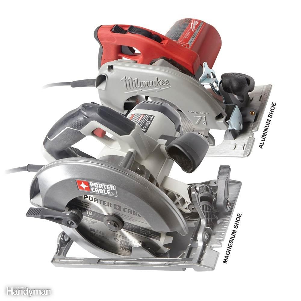 Circular saw reviews what are the best circular saws family handyman aluminum or magnesium shoe keyboard keysfo Images