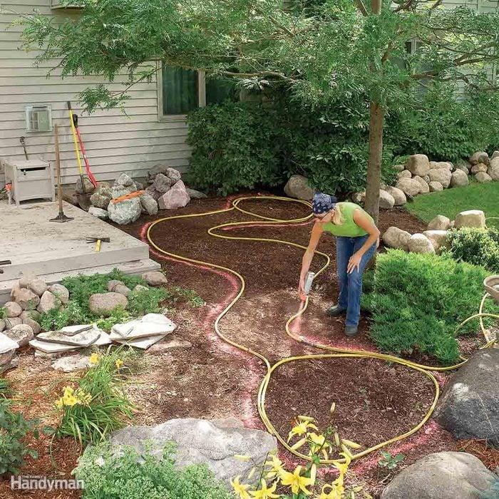Plan with a Garden Hose