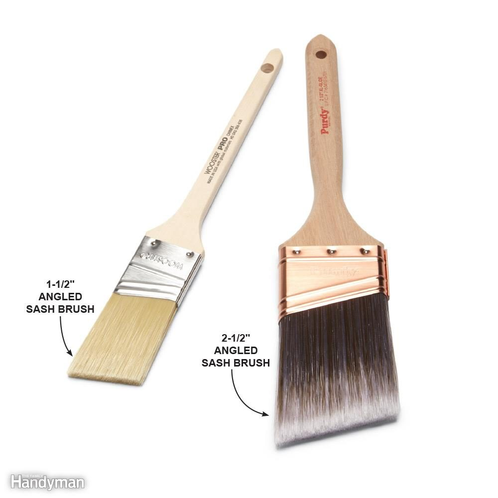 Buy a Good-Quality, Angled Sash Brush