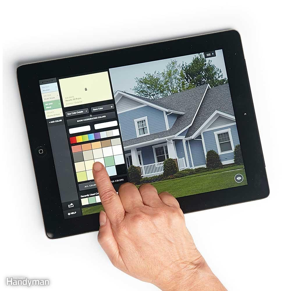 Virtually Paint Your House