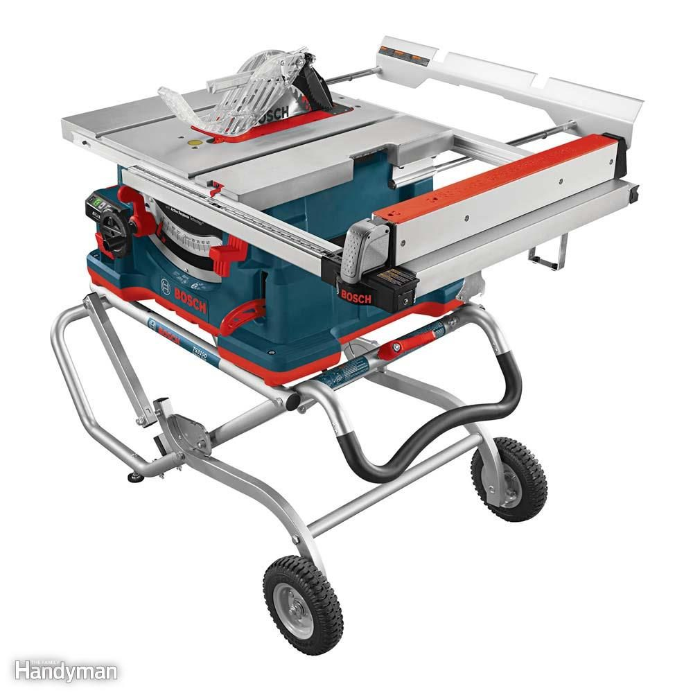 A Safer Portable Table Saw