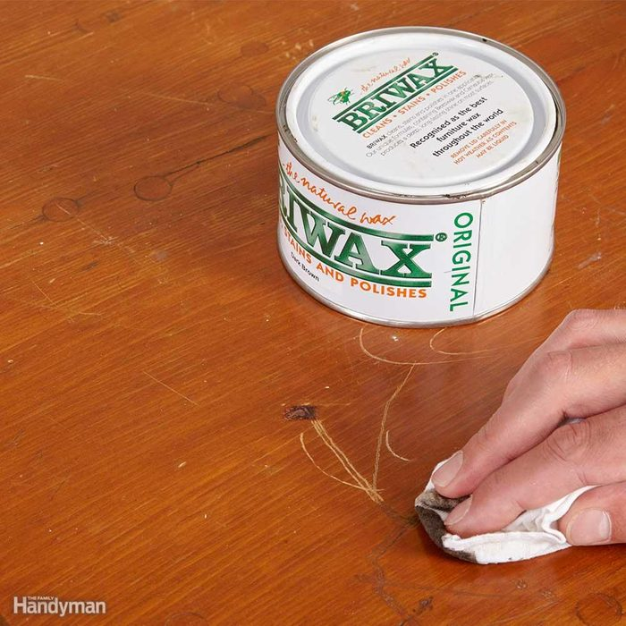 Hide Scratches with Wax