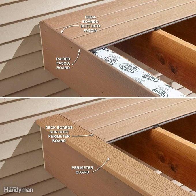 Hide Ugly Deck Board Ends