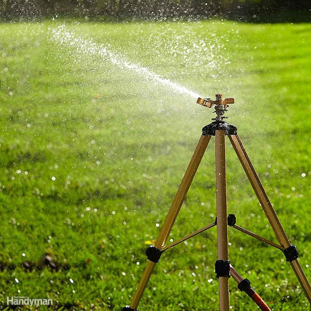 Buy an Impact Sprinkler on a Tripod