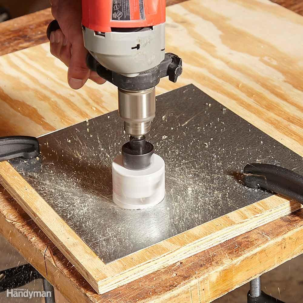 12 Tips for Drilling Holes in Metal \u2014 The Family Handyman