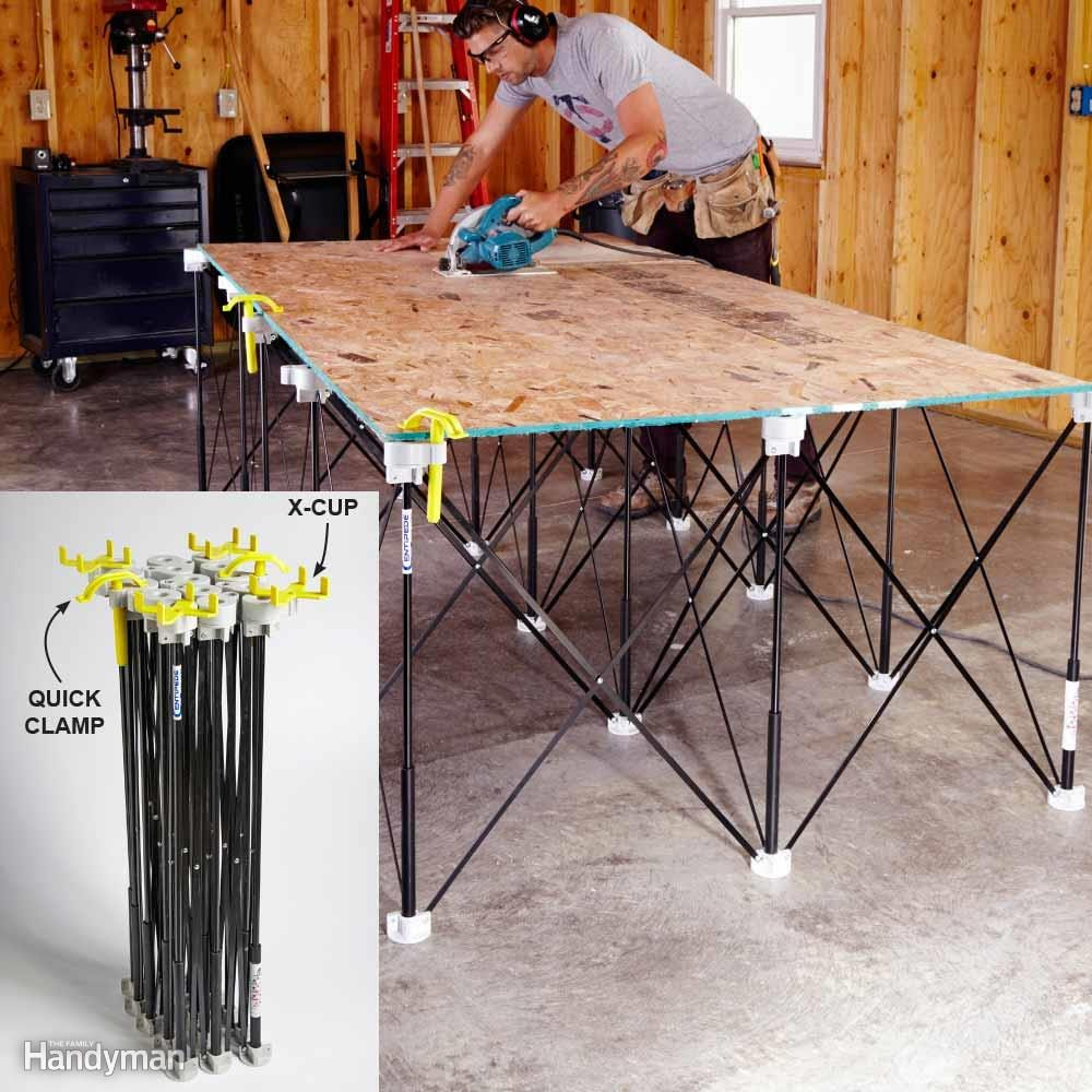 For the Handyman on the Go: A Sawhorse and Then Some