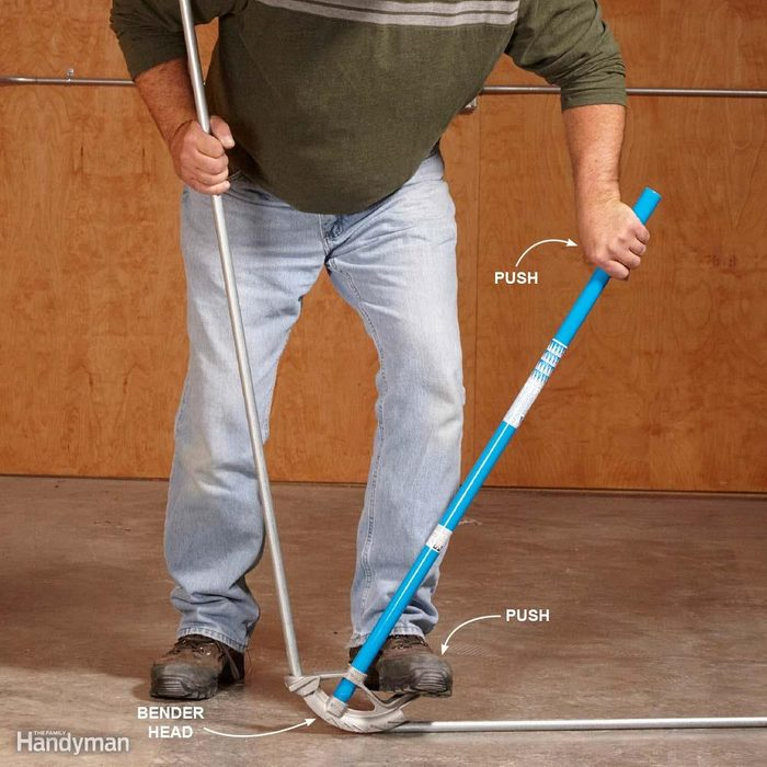 Bending Conduit for Dummies: Use Your Foot