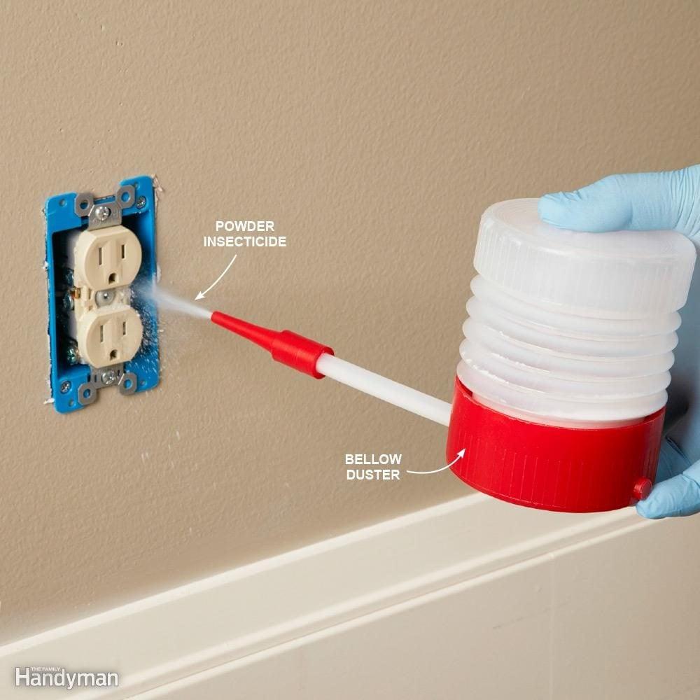 Spread a Residual Powder