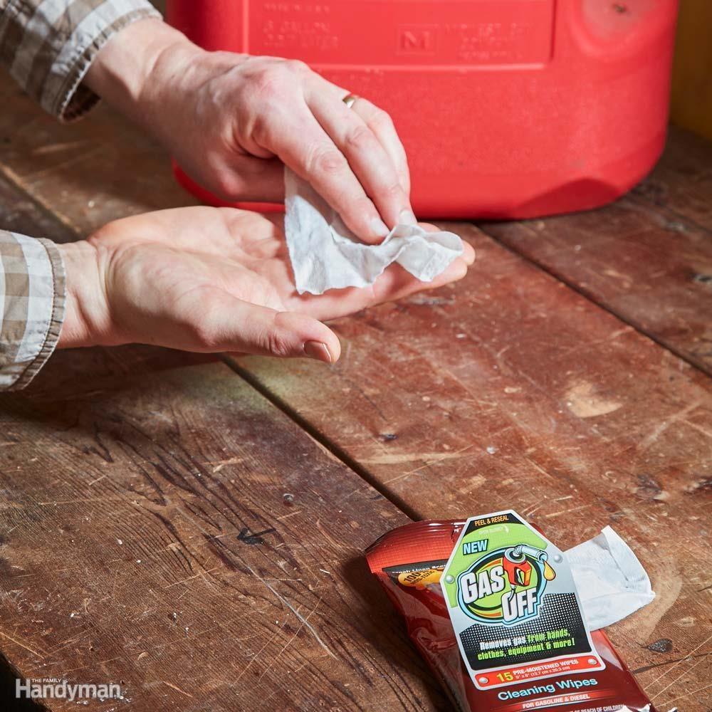 Eliminate Stinky Gasoline Smells