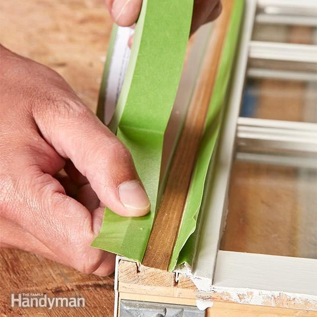 Avoid Painting the Tracks or Weather Stripping