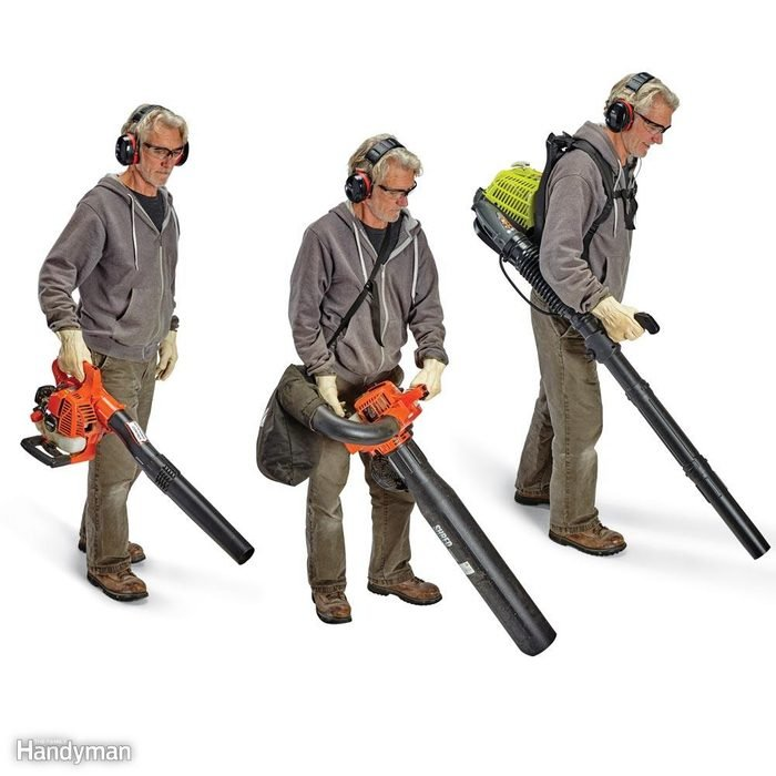 Choose the Gas Blower Style to Fit Your Yard
