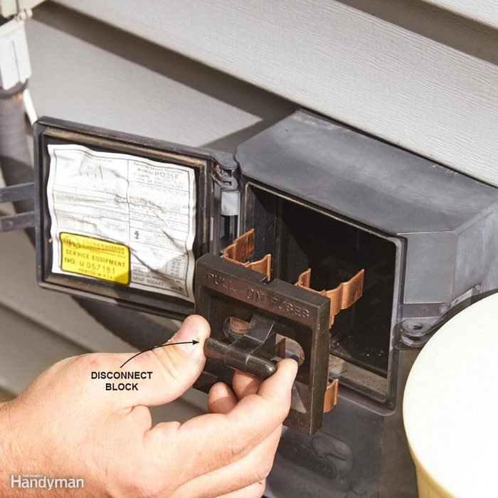 Cut the Power to Your A/C or Waste Energy and Damage Your Compressor
