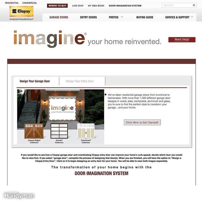 Use Manufacturers' Websites to Choose a Door Design
