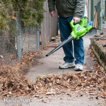 Greenworks Digipro Blower Vac Makes Quick Work of Spring Cleanup