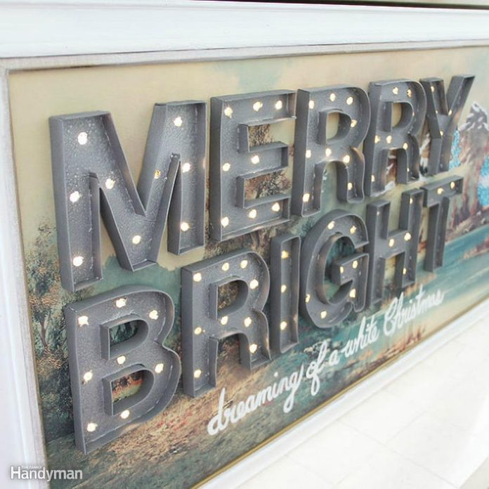 Holiday Marquee