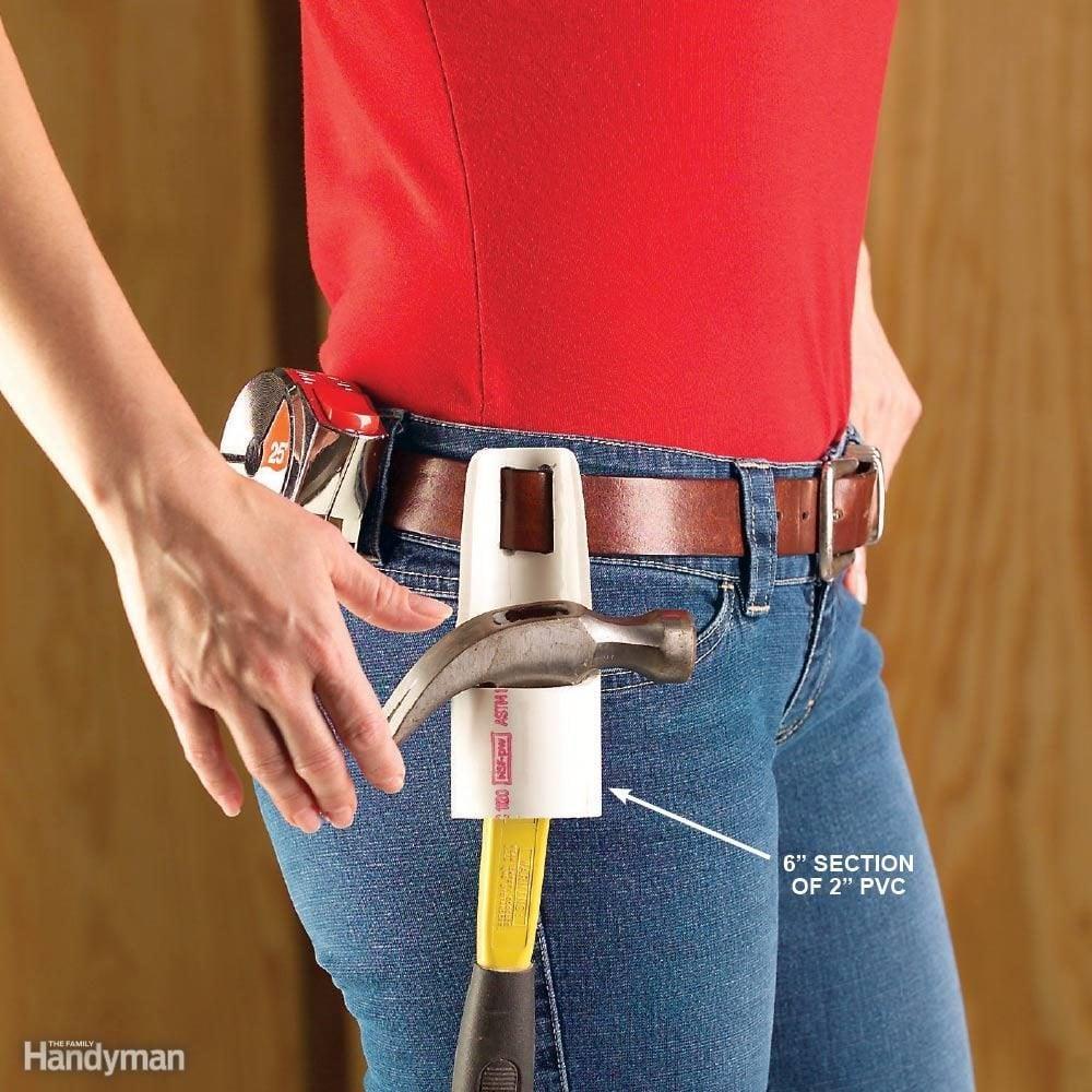 PVC Hammer Holder