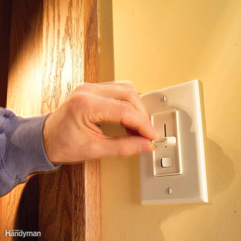 Wiring A Switch And Outlet The Safe Easy Way Family Handyman Quick Basic Home Buying Dimmer