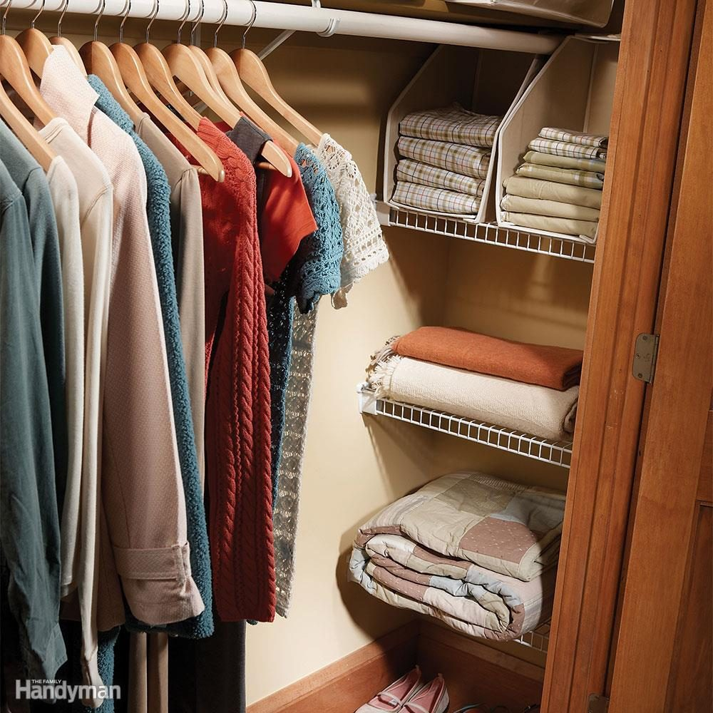 Easy Ways To Expand Your Closet Space Space Saving Closet