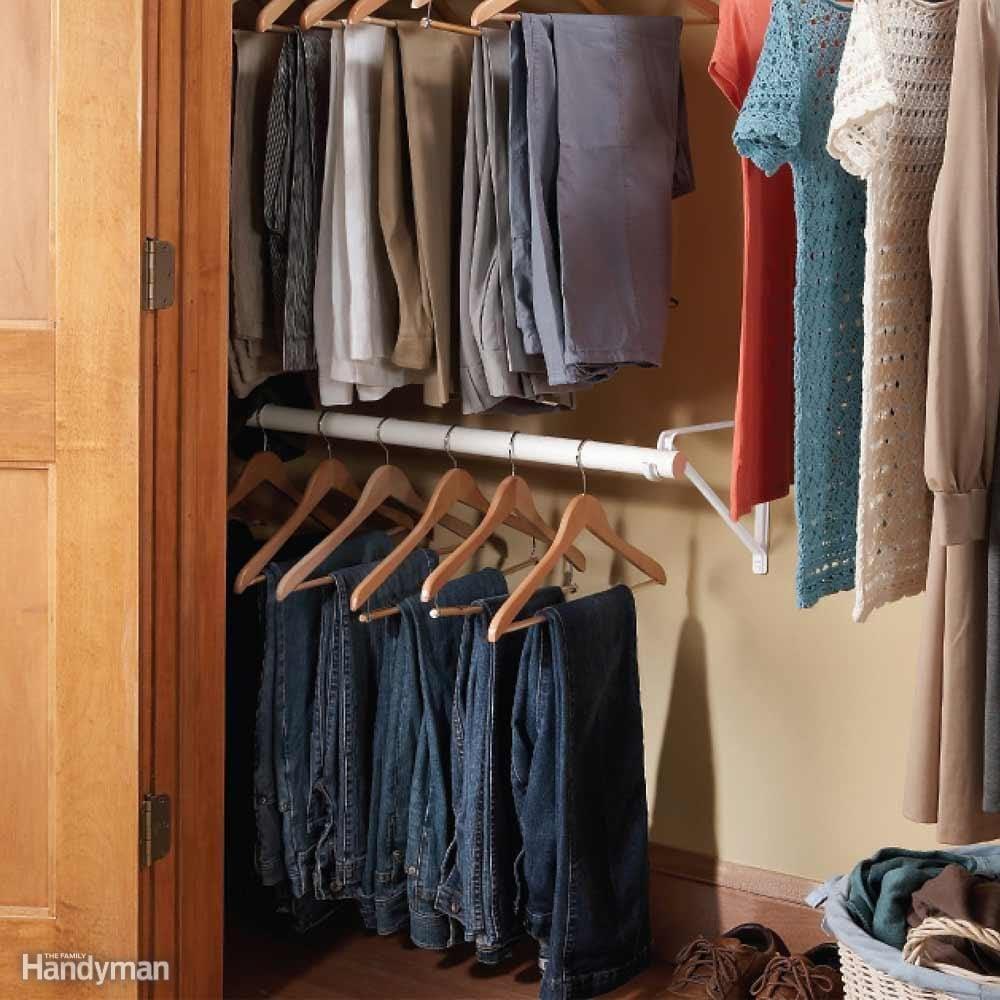 Double-Decker Closet Rod