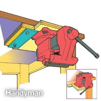 Bench-Top Tool Storage Tip