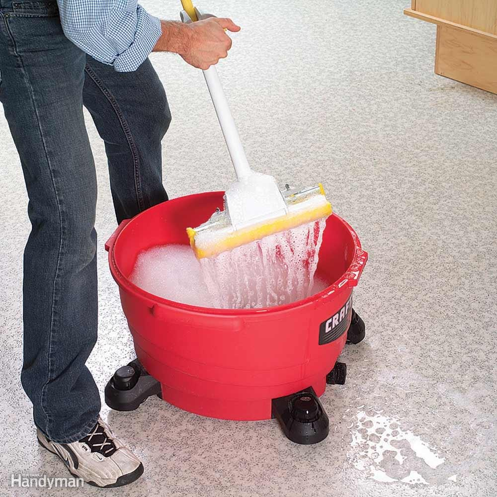 Shop Vacuum Mop Bucket