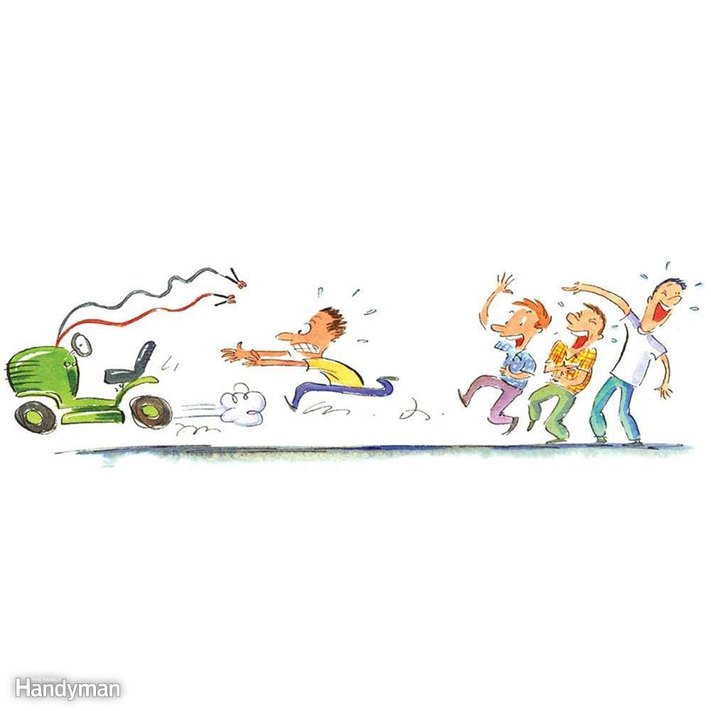 Runaway Mower