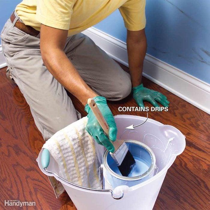 Paint Bucket Caddy