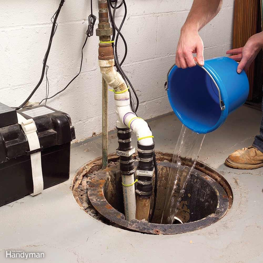 Test Your Sump Pump