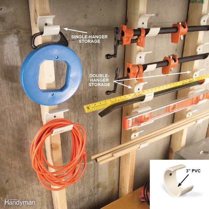 PVC Storage Hangers