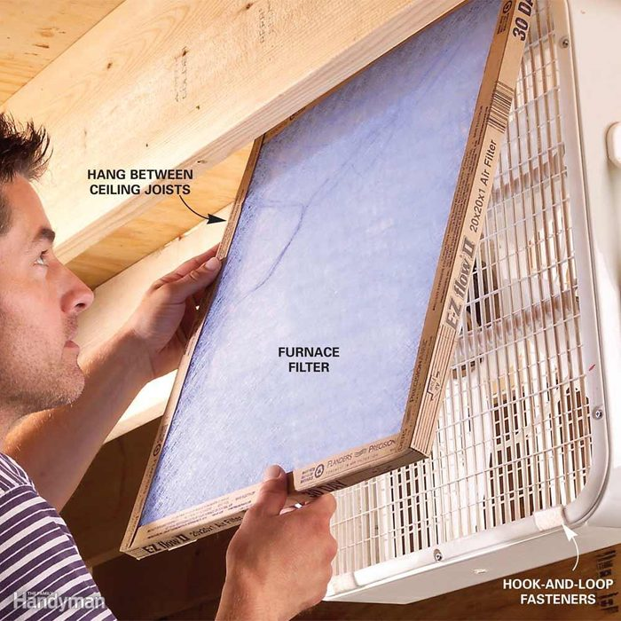 Ambient Air Cleaning on the Cheap