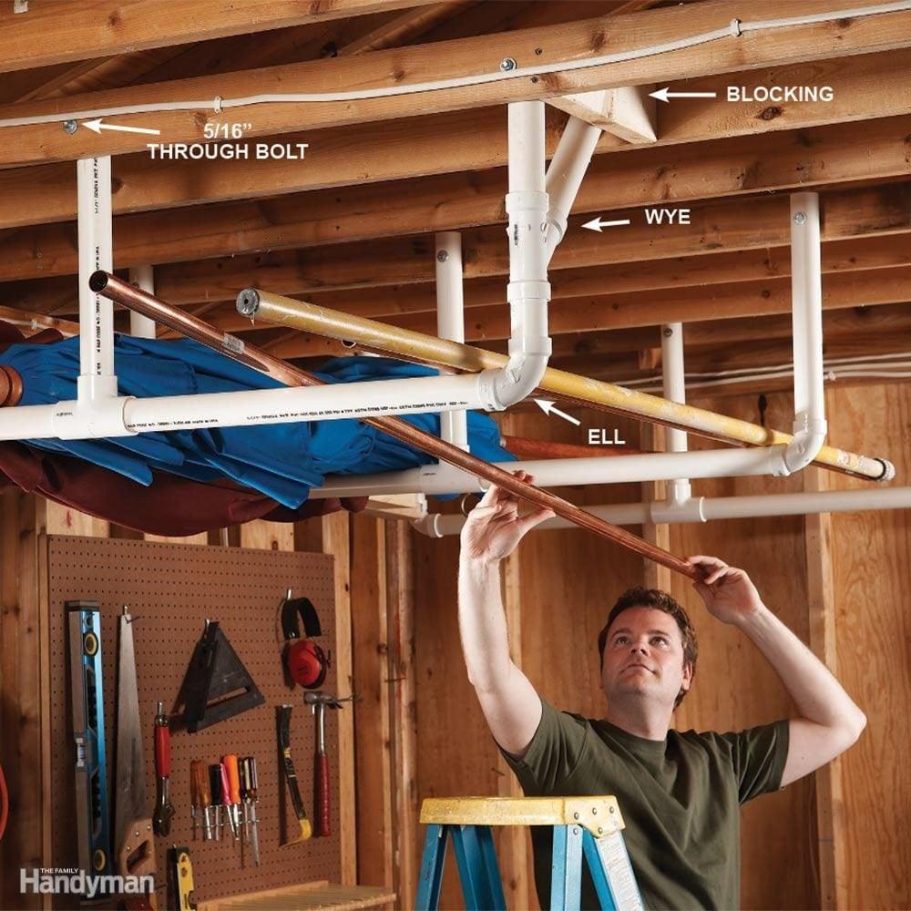 Merveilleux Overhead Storage In The Garage