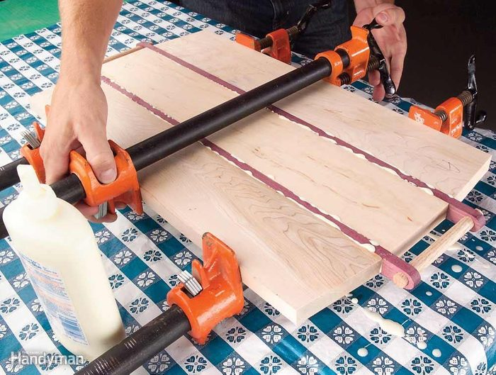 Woodworker's Tablecloth