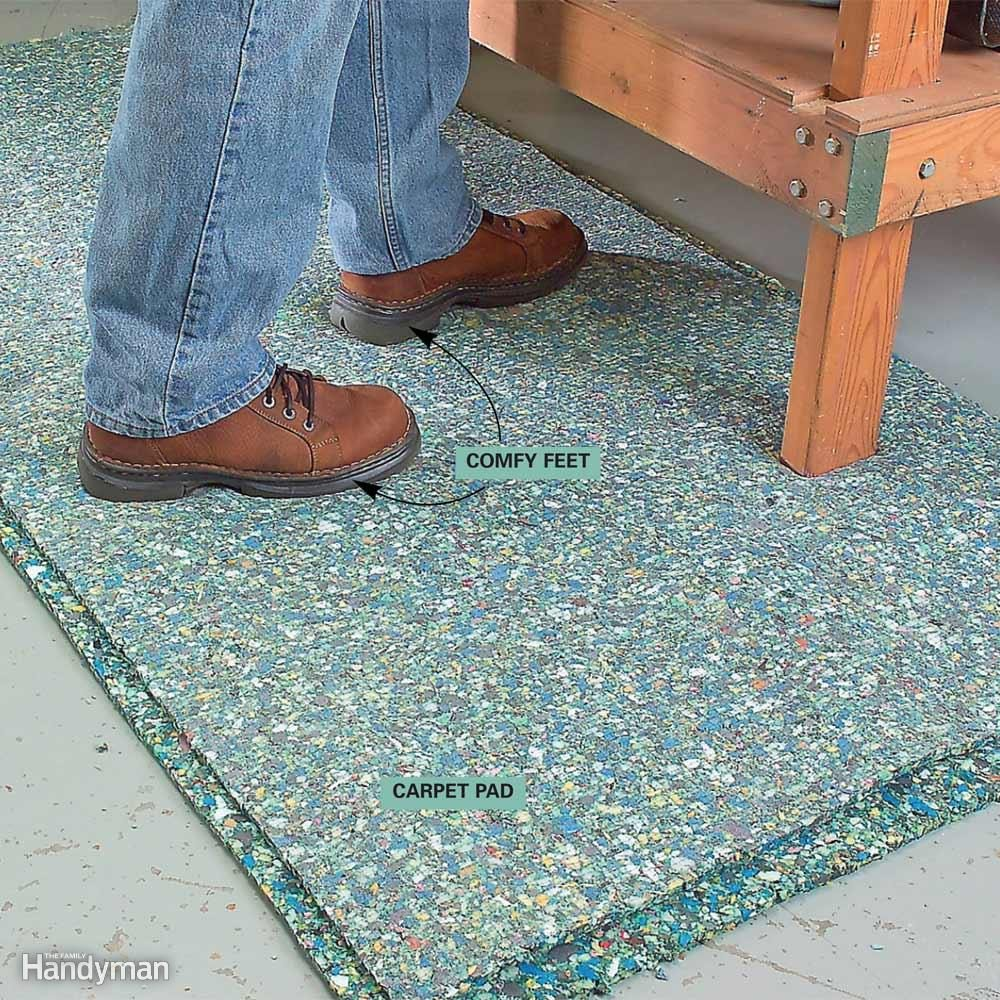 Carpet Pad for Soft Footing