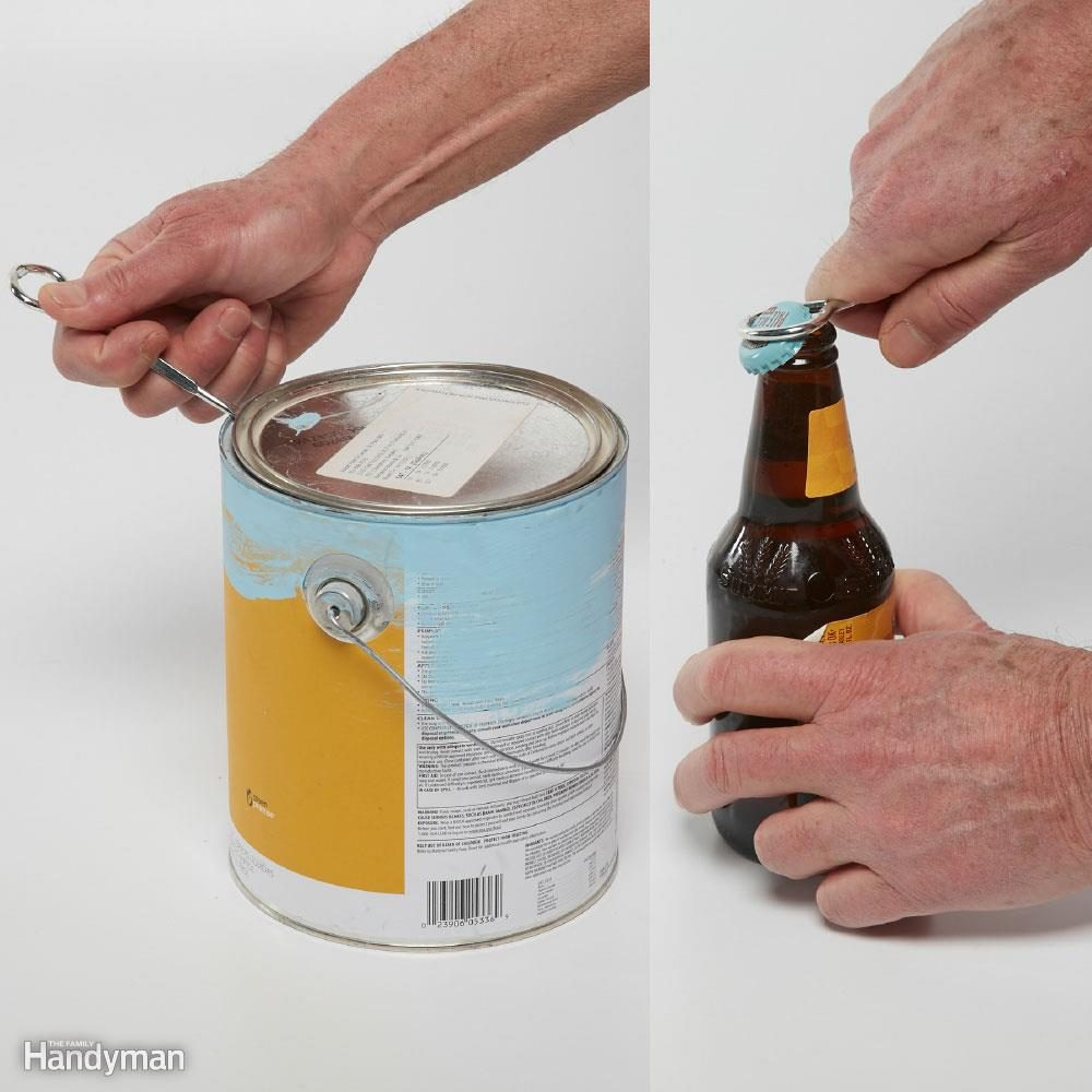 Official Paint Can Opener ? Not a Screwdriver!