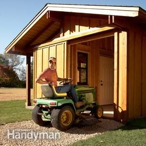 Sheds: Easy Sliding Doors