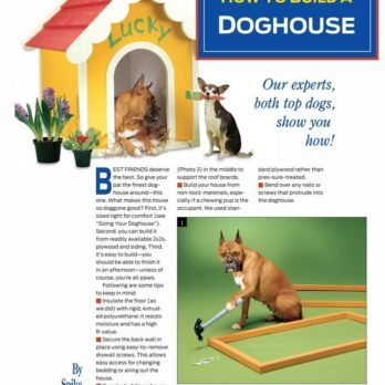 Throwback Thursday: Dog House Plans from 1995