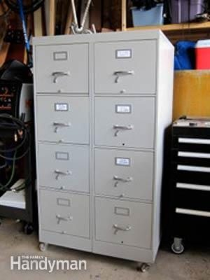 Shop Organization Idea For Cheap Tool Cabinet